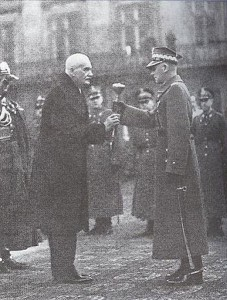 president Moscicki en Maarschalk E. Smigly-Rydz